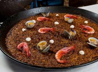 Paella Marisco La Marea Restaurante