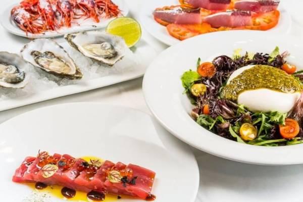 platos varias de marisco restaurante la marea